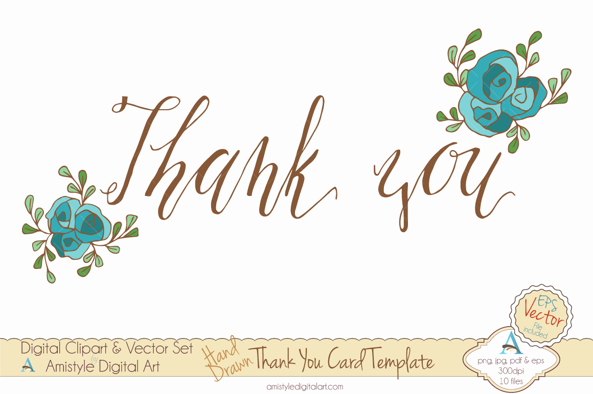 Thank You Card Template Free Fresh 6 Thank You Card Templates Excel Pdf formats