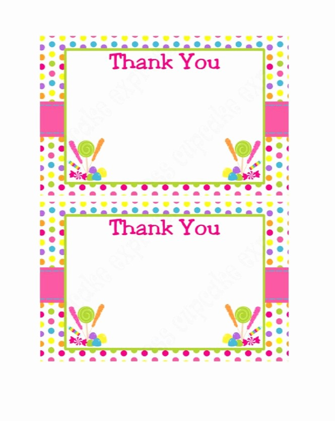 Thank You Card Template Free Inspirational 30 Free Printable Thank You Card Templates Wedding