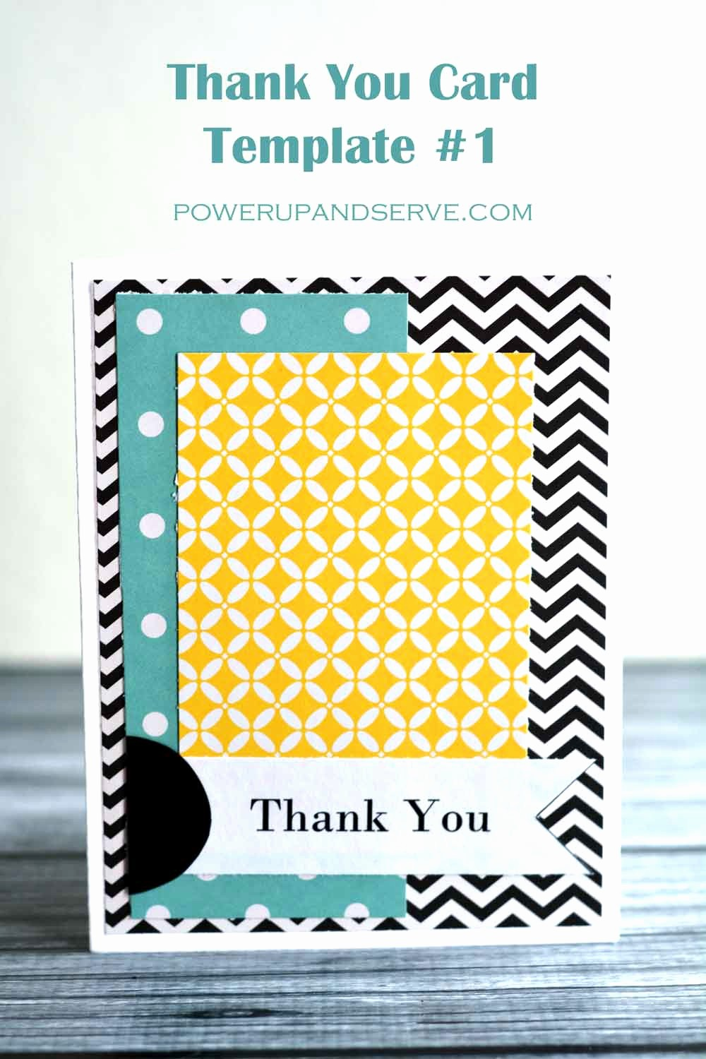 Thank You Card Template Free Inspirational Thank You Card Template 1 Power Up and Serve