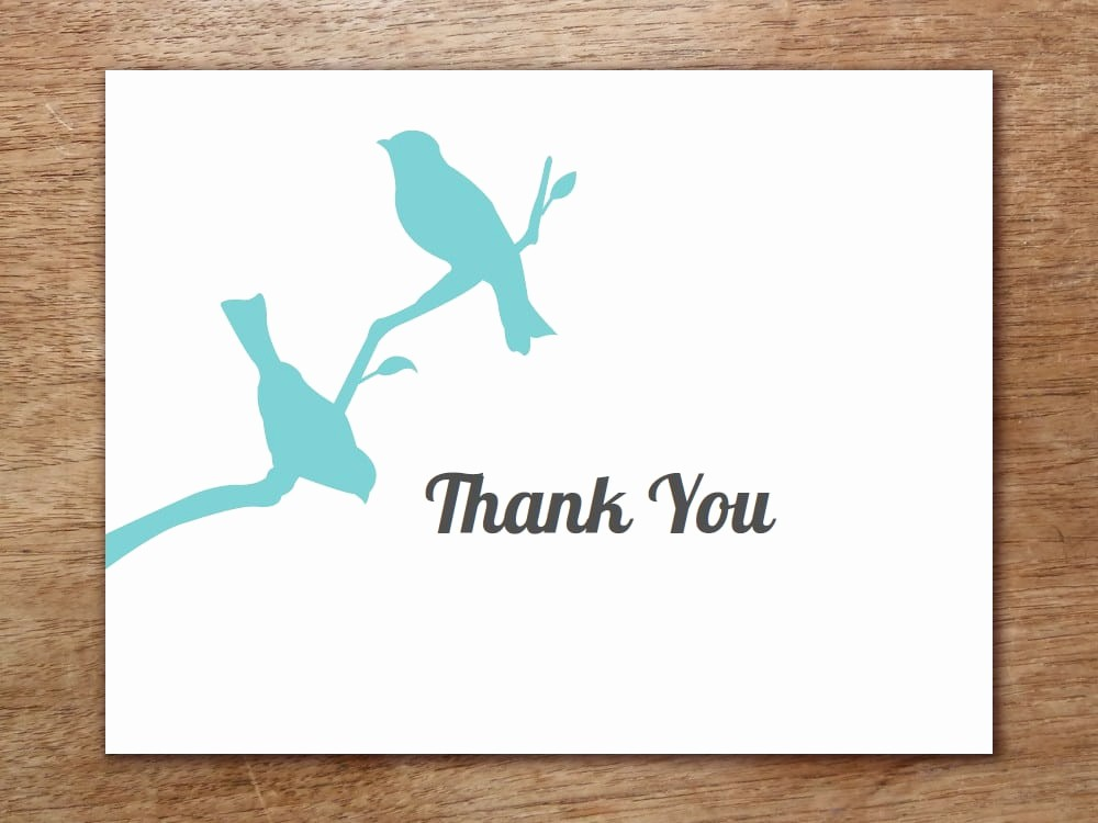 Thank You Card Template Free Lovely 6 Thank You Card Templates Word Excel Pdf Templates