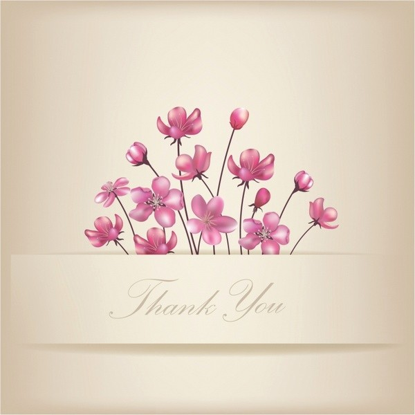 Thank You Card Template Free Luxury Thank You Cards Free Vector 89 950 Free Vector