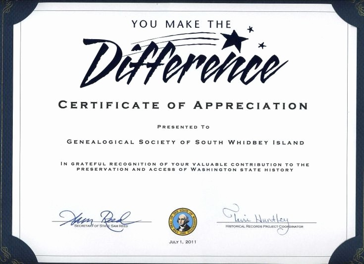 Thank You Certificate Word Template Awesome Thank You Certificates for Volunteers