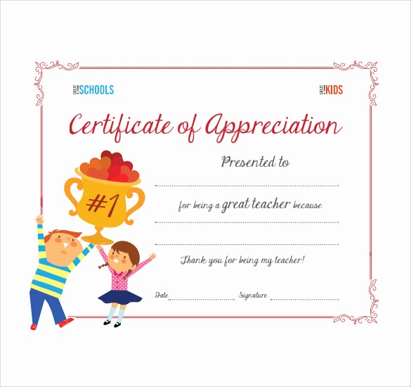 Thank You Certificate Word Template Best Of Sample Thank You Certificate Template 10 Documents