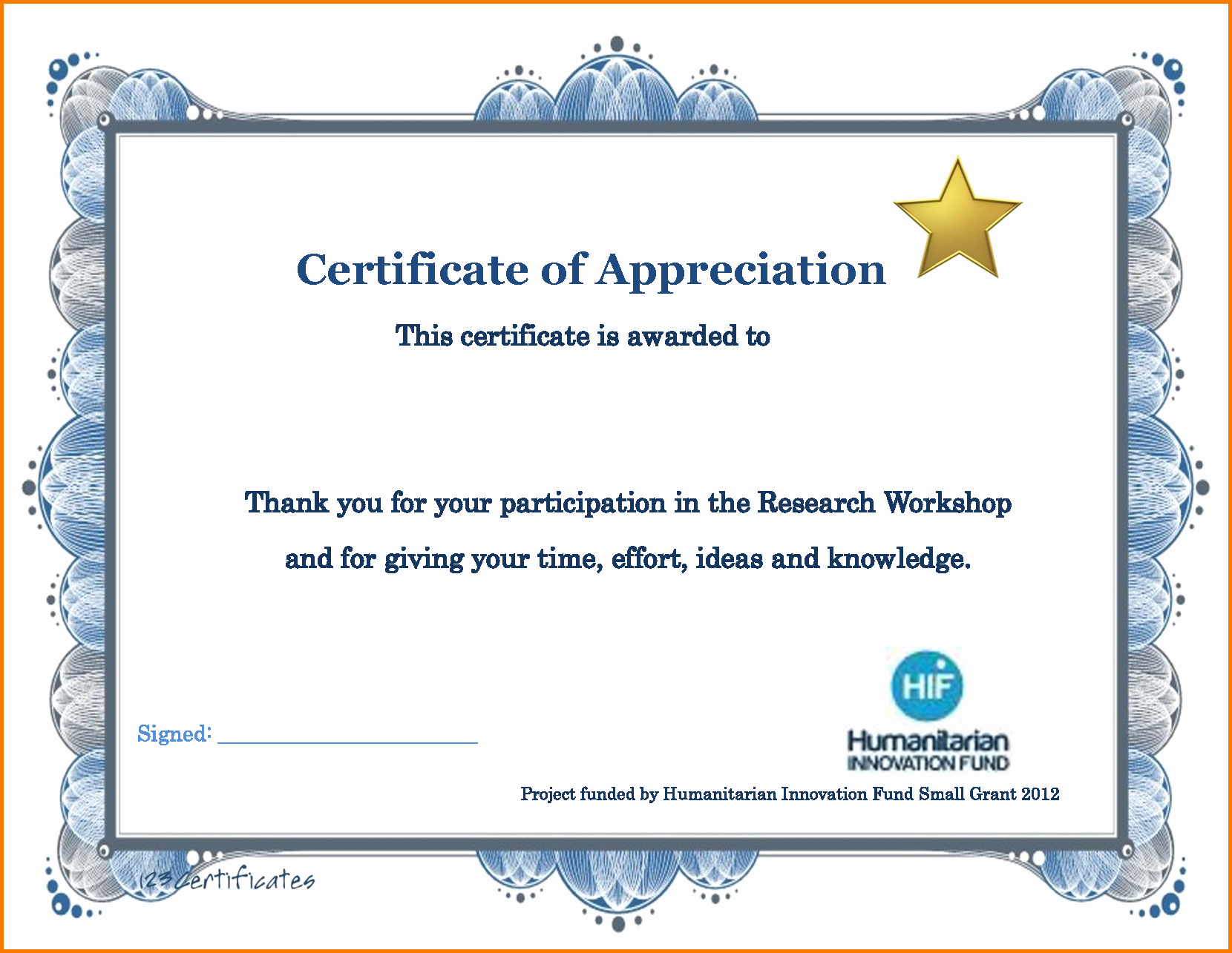 Thank You Certificate Word Template Best Of Thank You Certificate Template