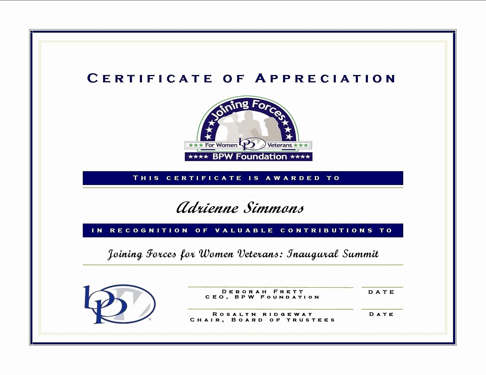 Thank You Certificate Word Template Luxury Valid Training Certificate format Word Doc Best Thank