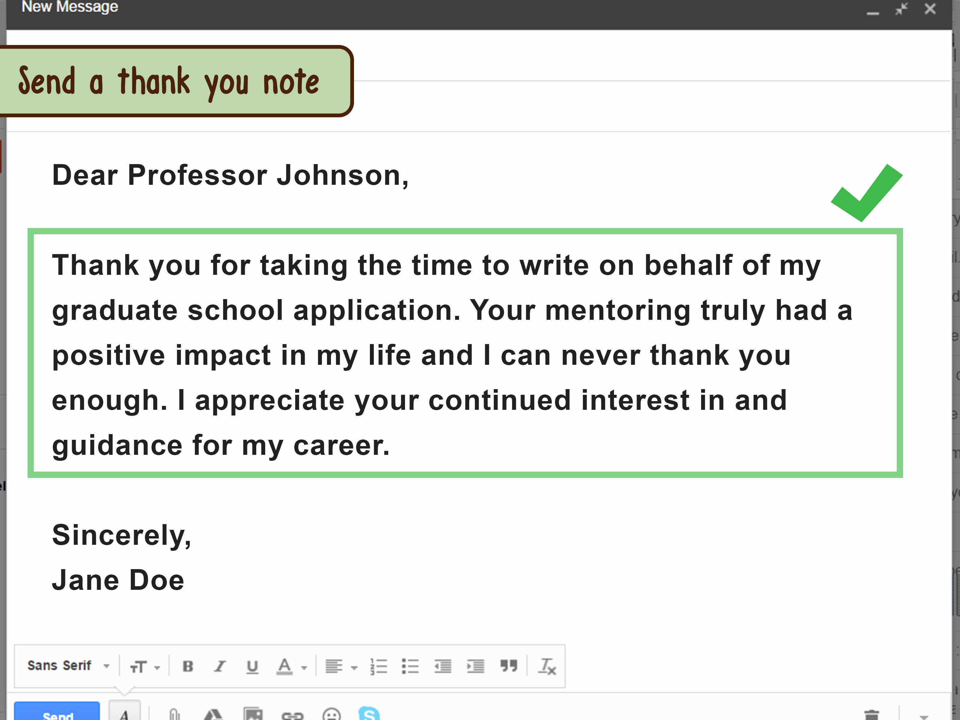 Thank You for Job Reference Awesome How to ask for A Letter Of Re Mendation Through Email