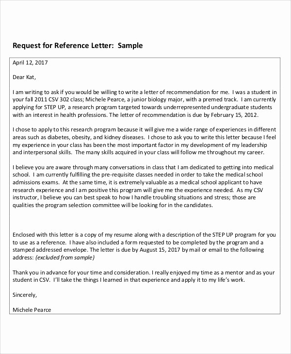 Thank You Letter for Reference Best Of 8 Sample Reference Thank You Letters