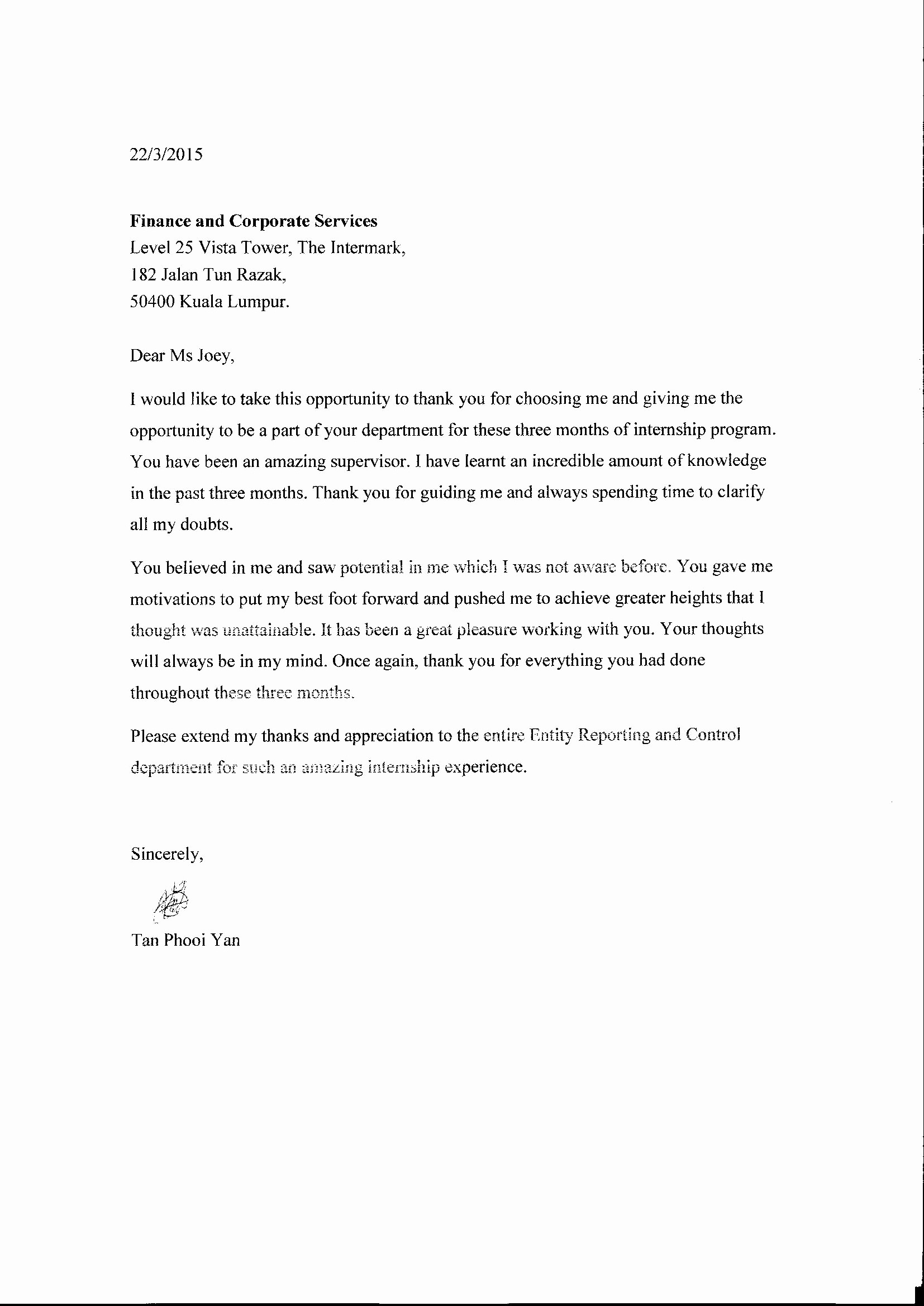 Thank You Letter for Reference Elegant Thank You Letter after Project Pletion Choice Image