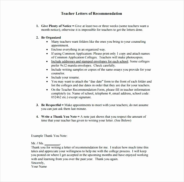 Thank You Letter for Reference New How to Write A Resume for Letter Re Mendation Best