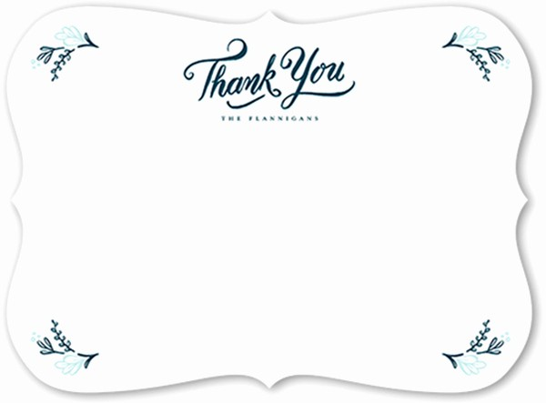 Thank You Note Card Template Awesome Thank You Messages Thank You Card Wording Ideas
