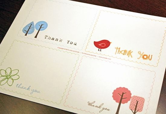 Thank You Note Card Template Best Of 25 Beautiful Printable Thank You Card Templates Xdesigns