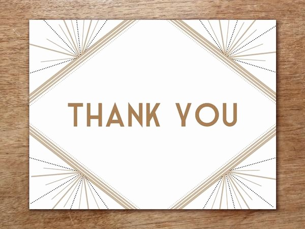 Thank You Note Card Template Inspirational Printable Wedding Invitation Kit Deco – E Mpers