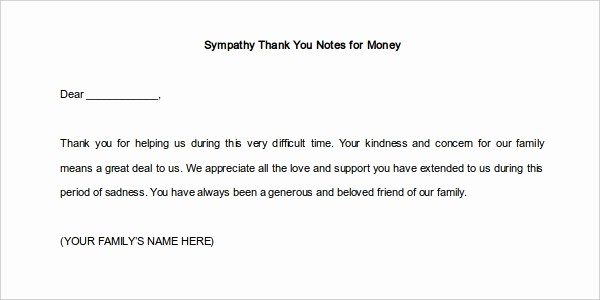 Thank You Note Card Template Luxury 12 Thank You Note Templates Free Sample Example