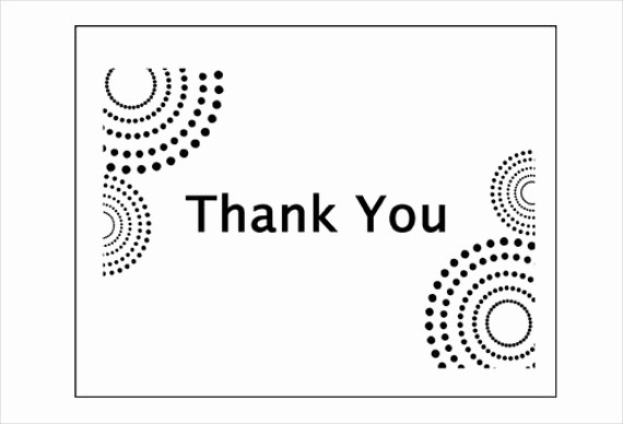 Thank You Note Cards Template Best Of 6 Business Thank You Cards Psd Ai