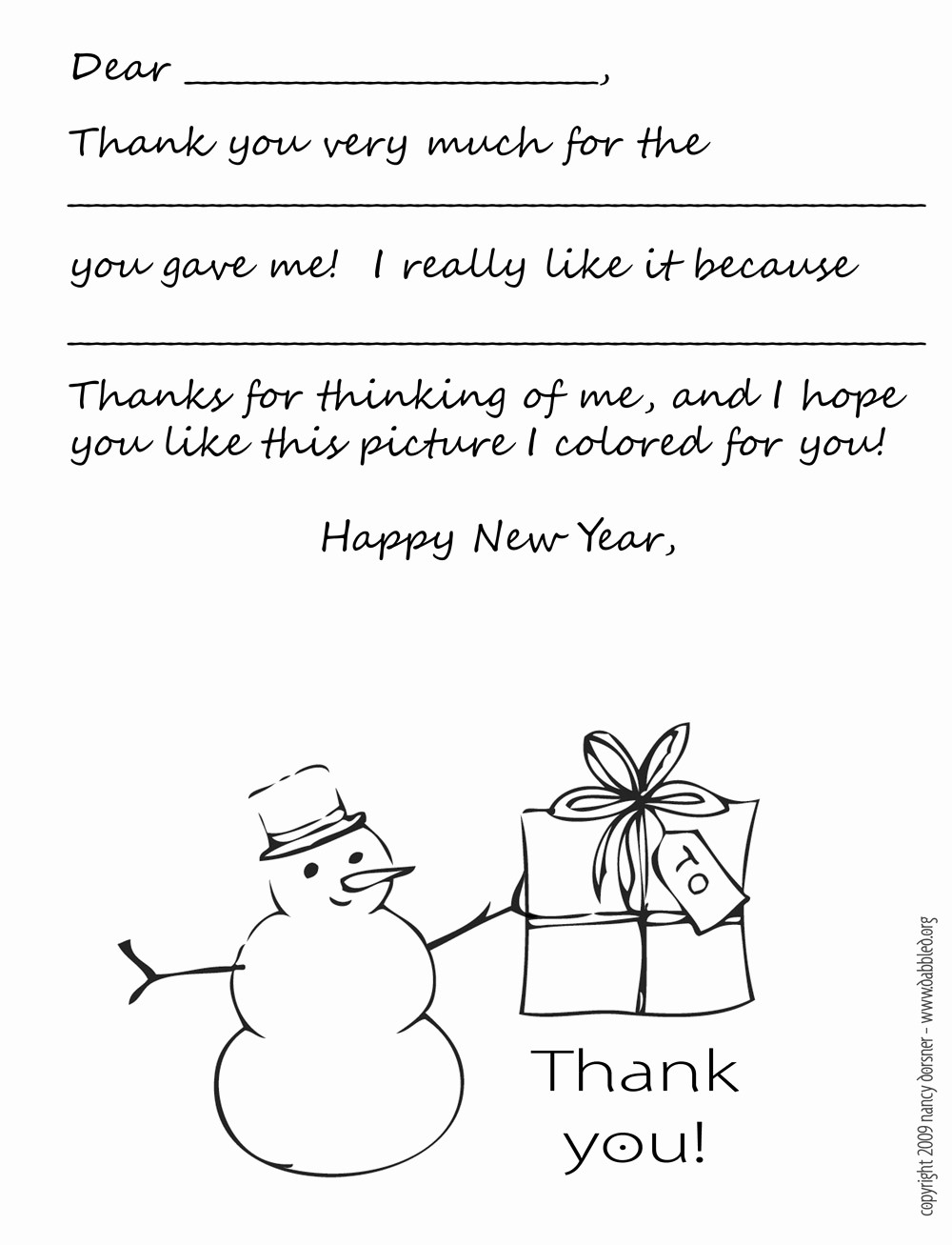 Thank You Note Cards Template Best Of Dabbled