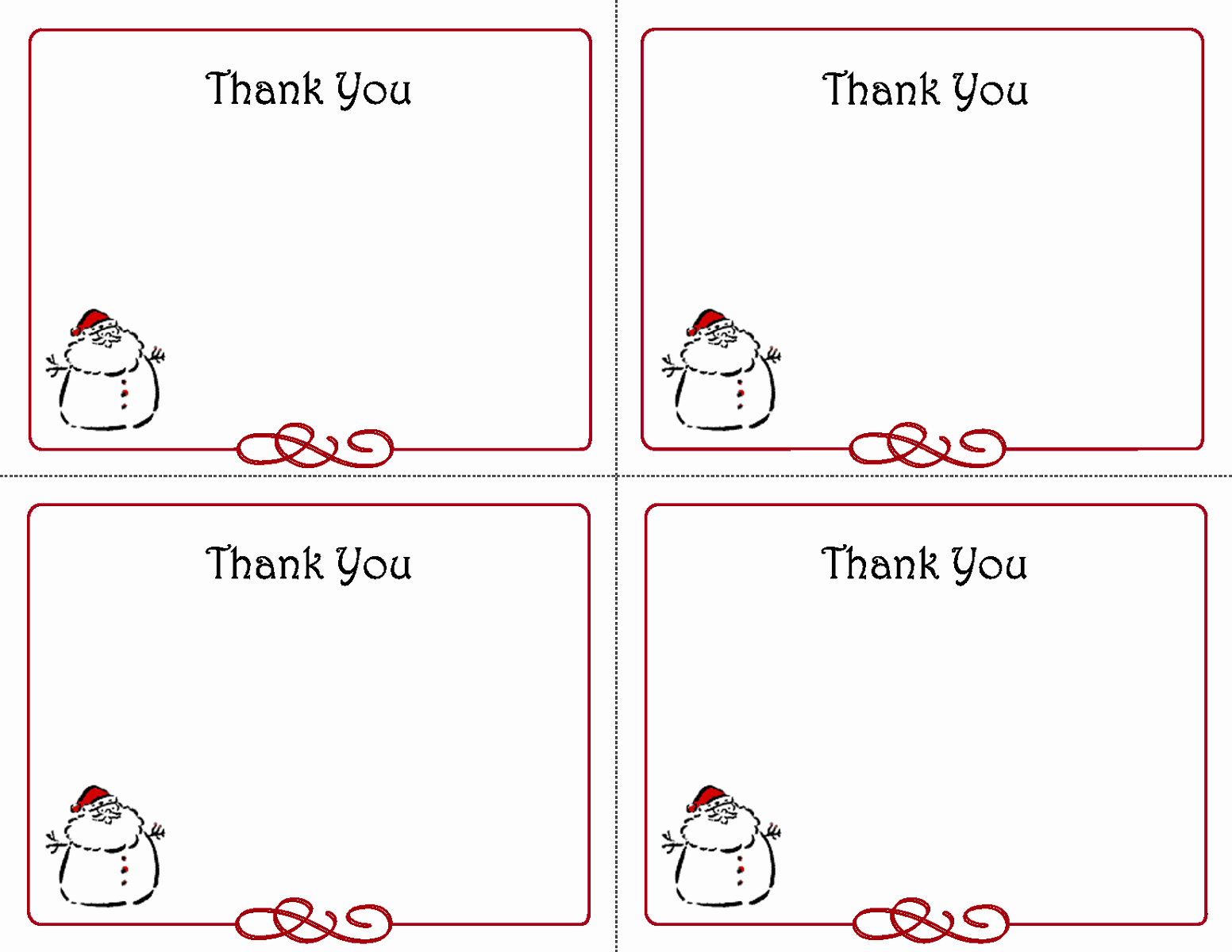 Thank You Note Cards Template Fresh Thank You Notes Templates