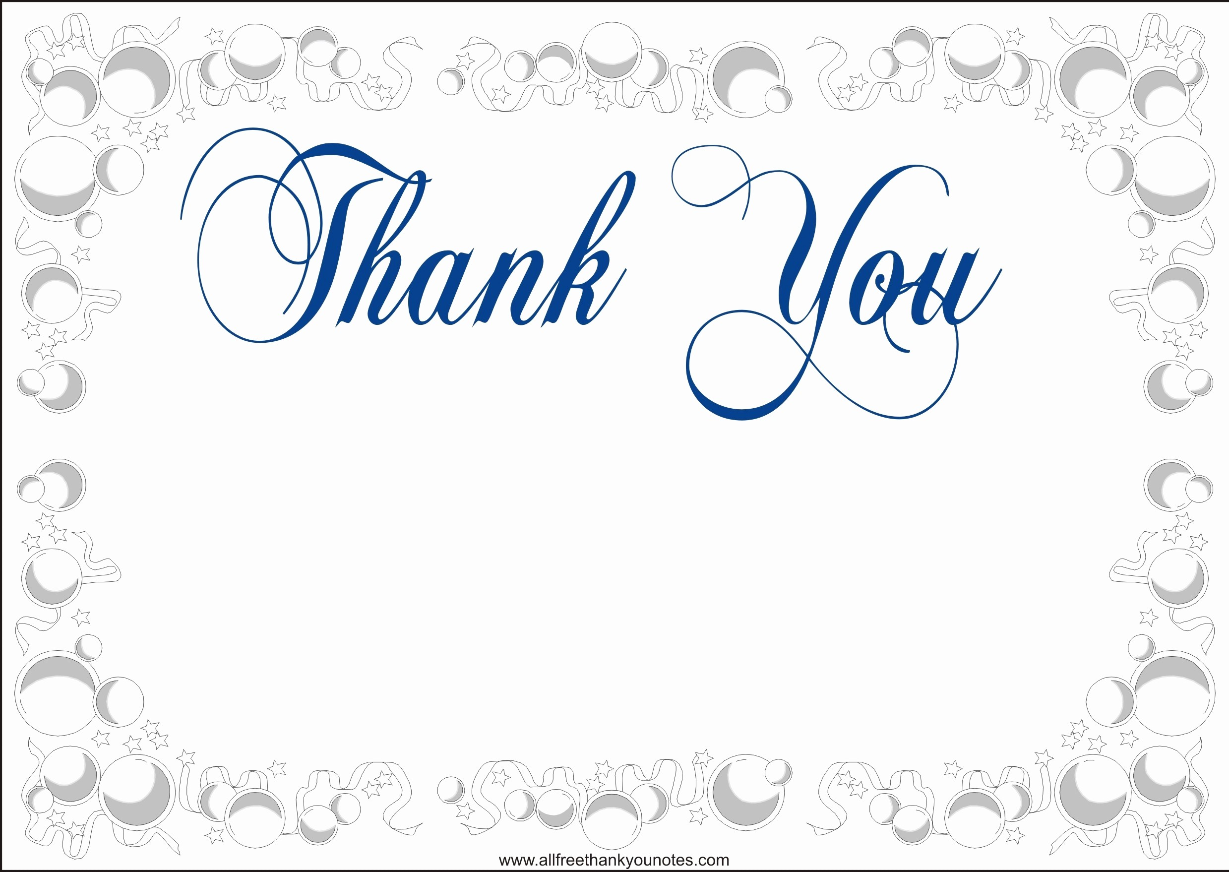 Thank You Note Cards Template New Thank You Note Template