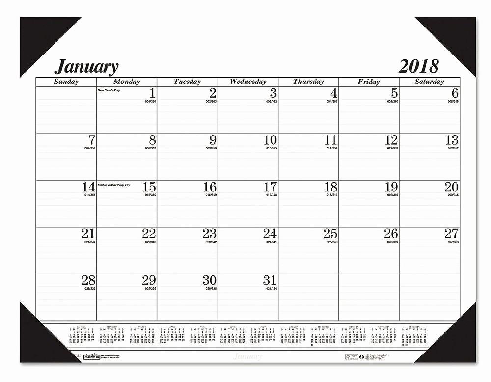 The Office Daily Calendar 2017 Beautiful Blueline Year 2017 Desk Pad Calendar Chipboard