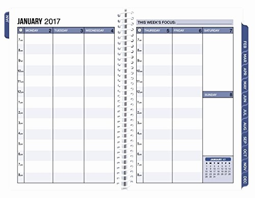 The Office Daily Calendar 2017 Elegant Bloom Daily Planners 2017 Calendar Year Daily Planner