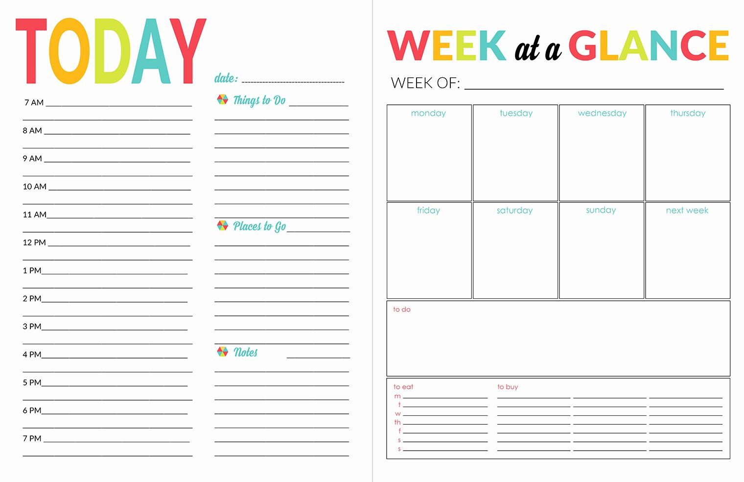 The Office Daily Calendar 2017 Elegant School Year organizer & Planner Printable Pack Yellow