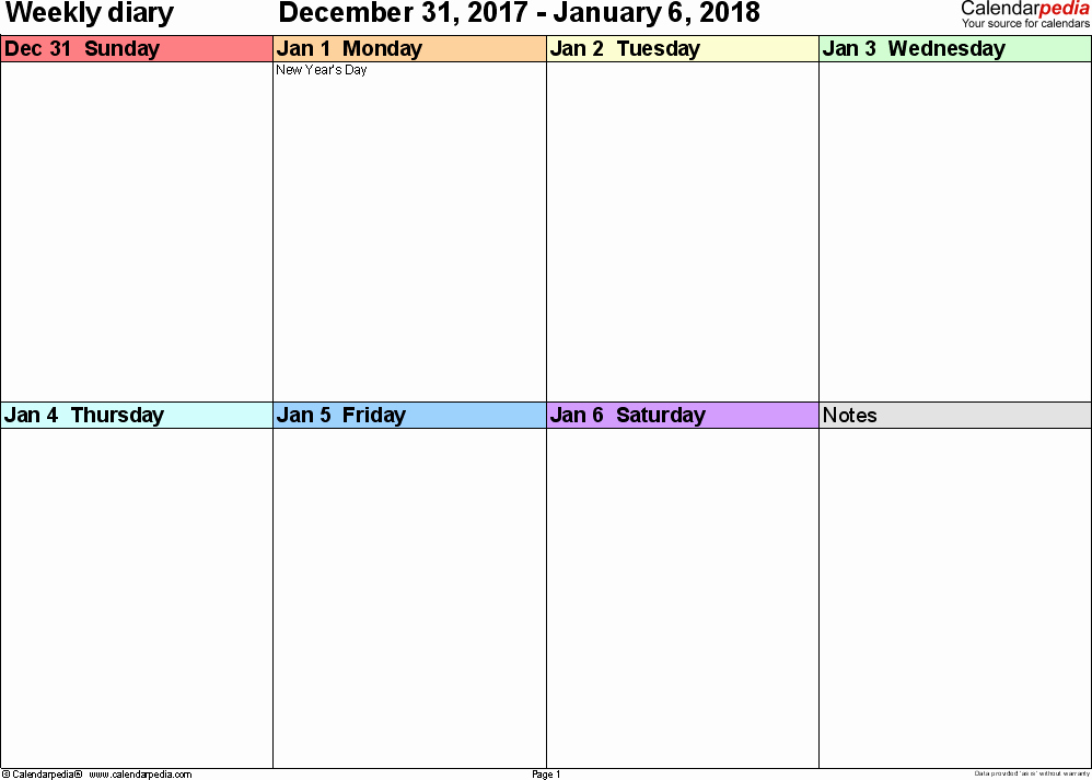 The Office Daily Calendar 2017 Elegant Weekly Calendar 2018