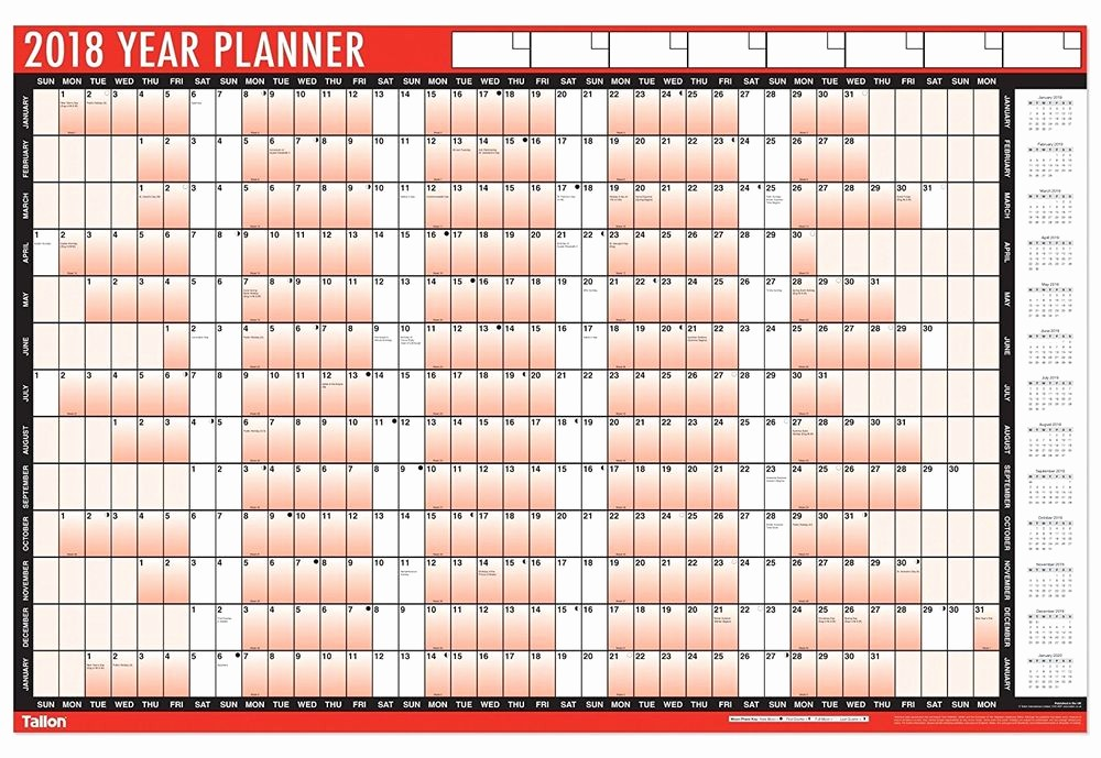 The Office Daily Calendar 2017 Inspirational 2017 Year Wall Planner A1 Size Laminated for Home Office