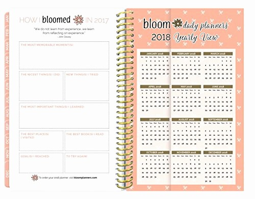 The Office Daily Calendar 2017 Unique Bloom Daily Planners 2017 Calendar Year Daily Planner