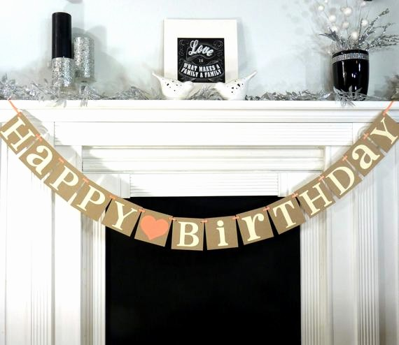 The Office Happy Birthday Sign Fresh Happy Birthday Birthday Party Banner Rustic by