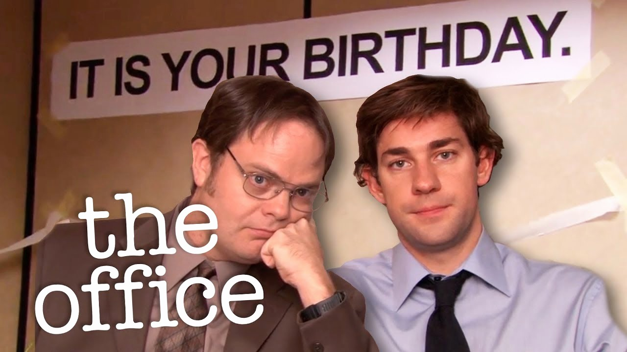 The Office Happy Birthday Sign Lovely Jim & Dwight S Party Planning the Fice Us