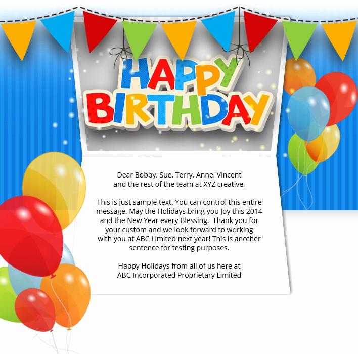 The Office Happy Birthday Sign Luxury Corporate Birthday Ecards