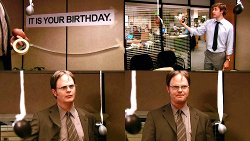 The Office Happy Birthday Sign Luxury It is Your Birthday 10 Best Jim and Dwight Moments From the…