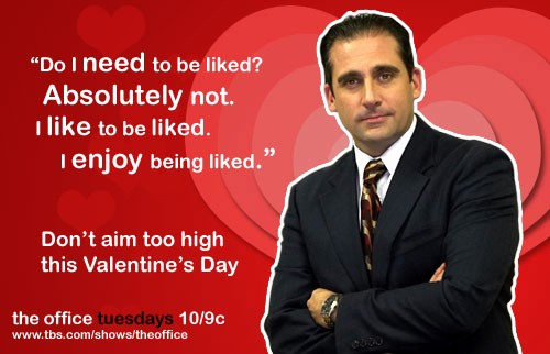 The Office Valentines Day Card Awesome Funny Quotes From the Fice Valentines Quotesgram