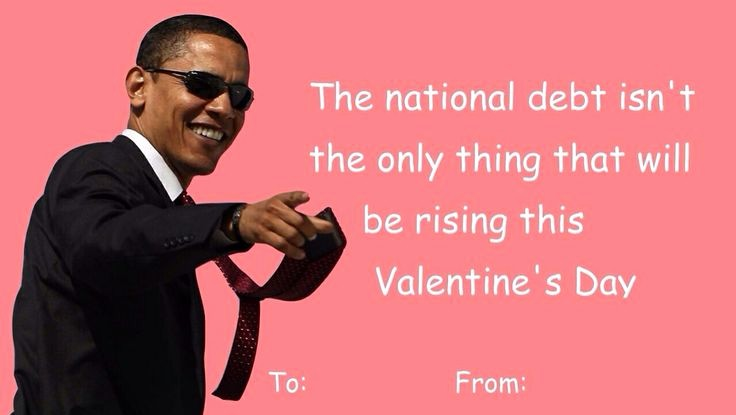 The Office Valentines Day Card Awesome President Obama Valentines Day Card
