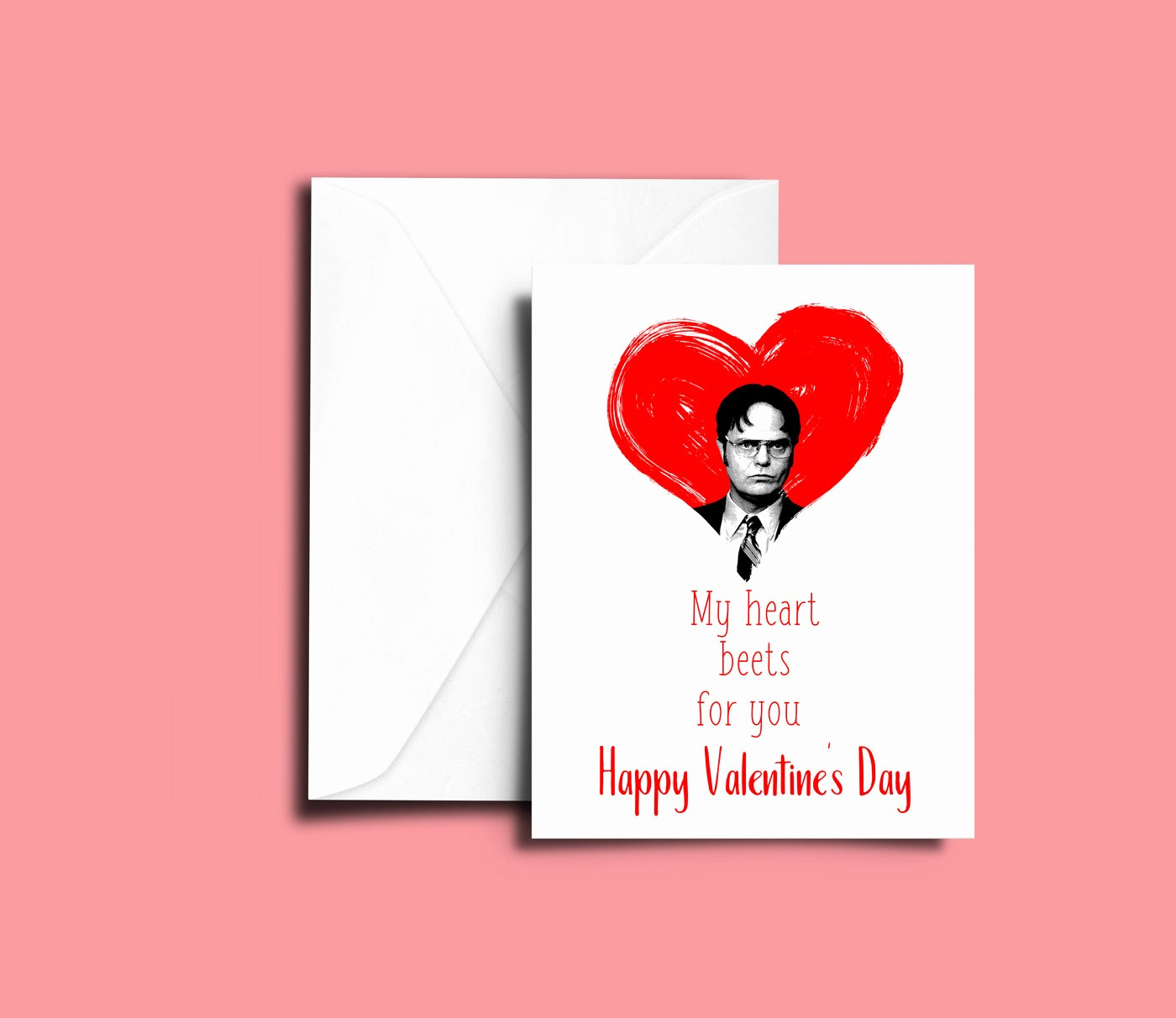 The Office Valentines Day Card Beautiful the Fice Valentine S Day Greeting Card Happy