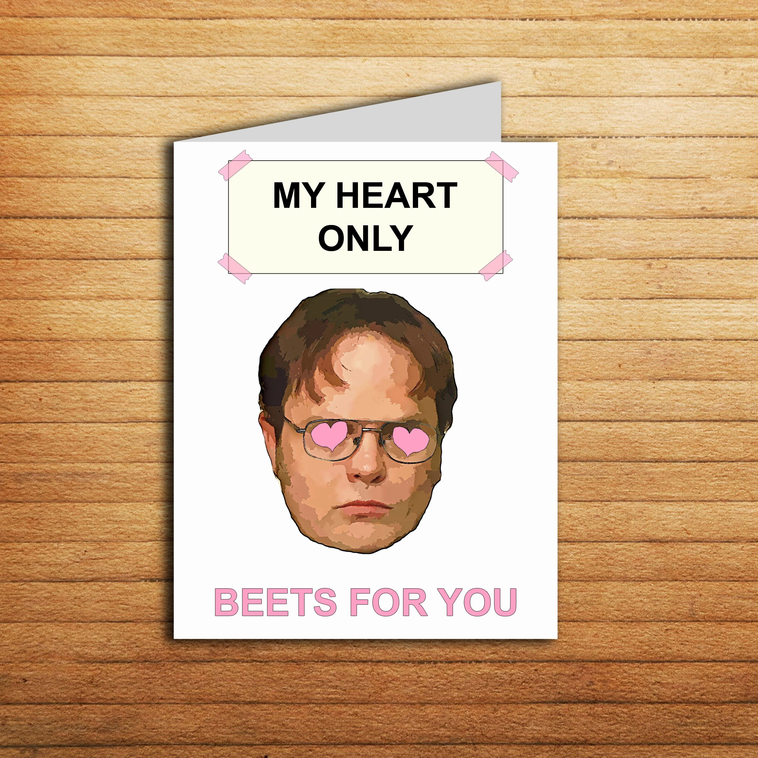 The Office Valentines Day Card Elegant the Fice Valentines Day Card Dwight Schrute Beet Valentine