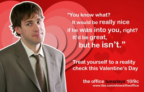 The Office Valentines Day Card Fresh Being Single On Valentine's Day