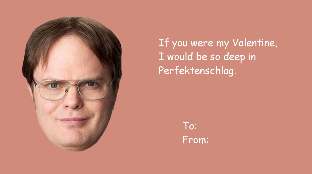 The Office Valentines Day Card Lovely the Fice isms Celebrate Valentine S Day with the Fice