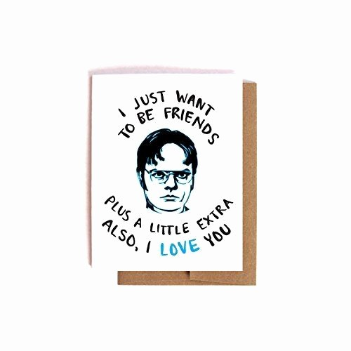 The Office Valentines Day Card New Dwight Schrute Love Card the Fice Valentine S Day