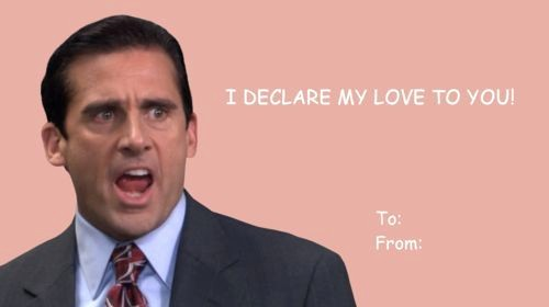 The Office Valentines Day Card Unique the Office Steve Caroll Valentine S Day Cards