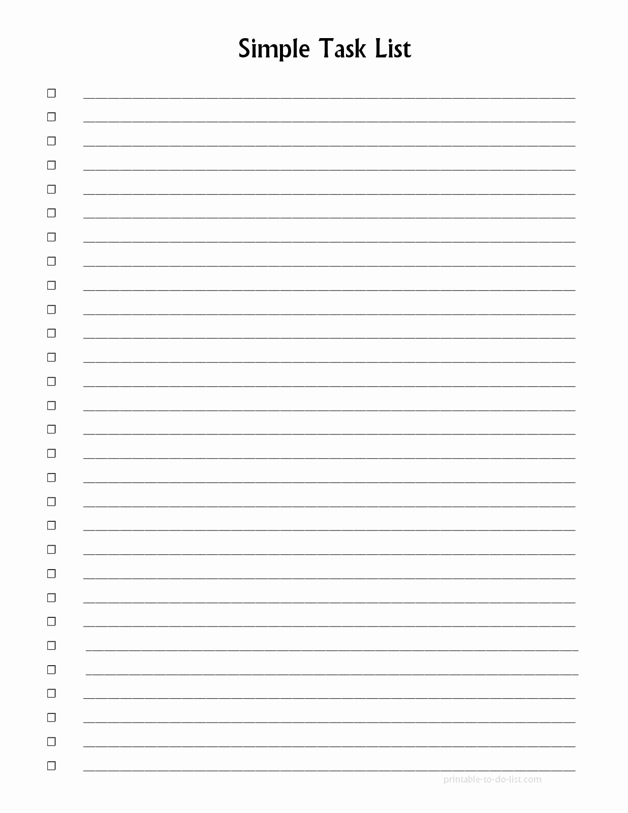 Things to Do Checklist Template Awesome Template List Things to Do Template