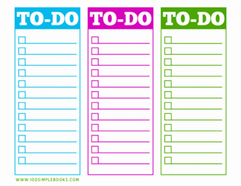 Things to Do Checklist Template Inspirational What to Do when Your to Do List Runs You