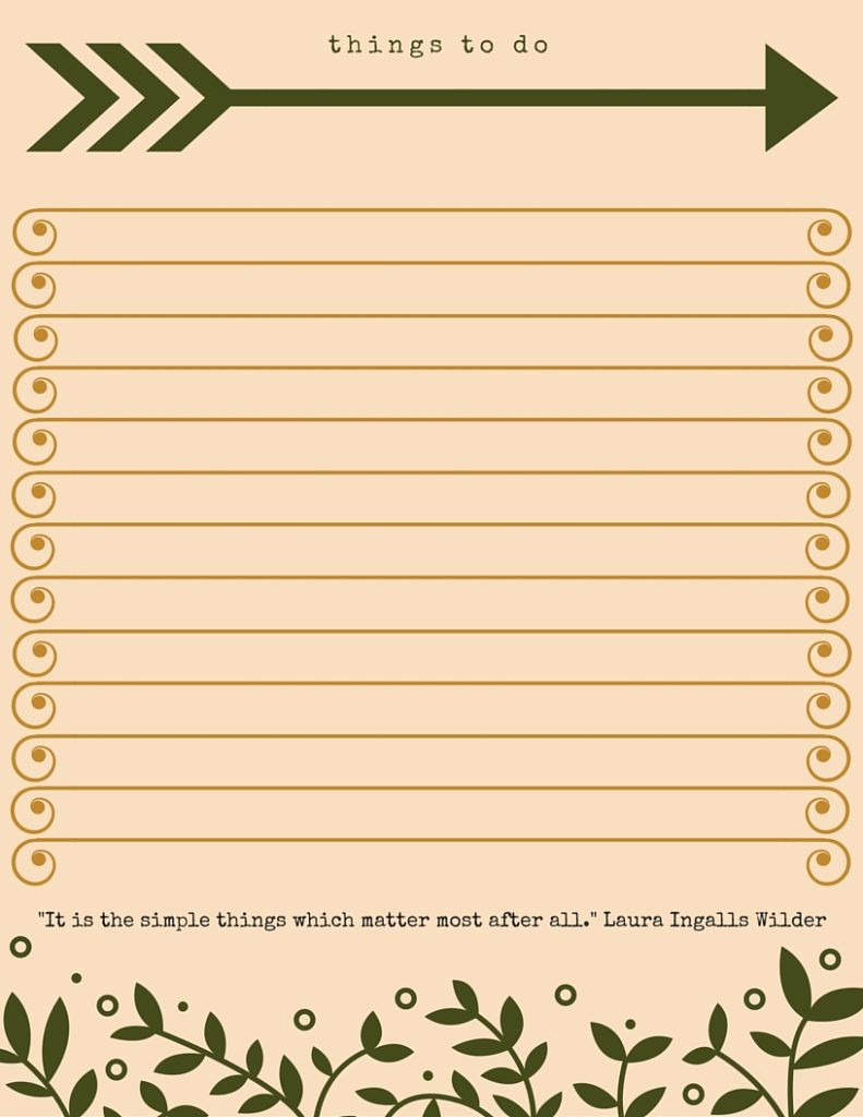 Things to Do Checklist Template Unique 40 Printable to Do List Templates