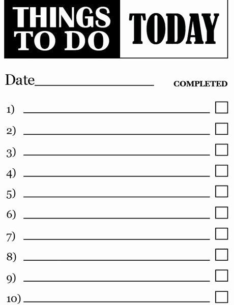 Things to Do List Printable Beautiful Things to Do List Printable – Hatch Urbanskript