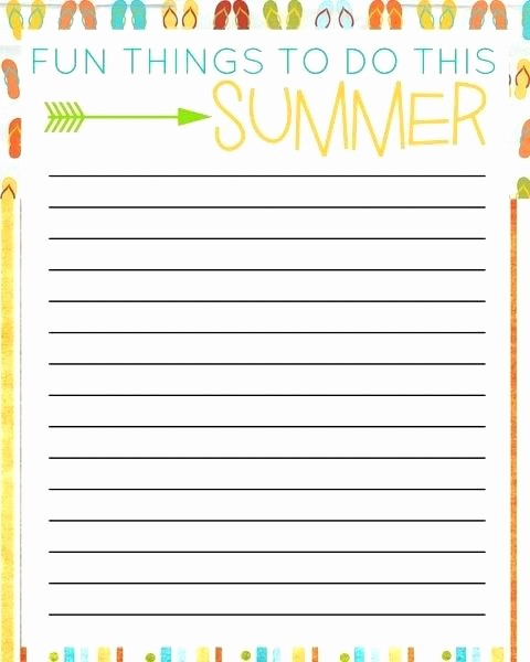Things to Do Template Word Beautiful Things to Do List Template Excel Printable Checklist
