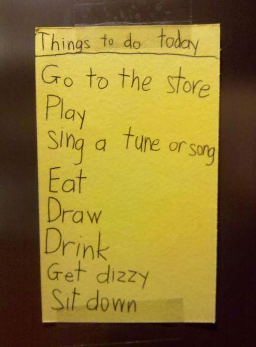 Things to Do today List Elegant My son Has A Long to Do List today