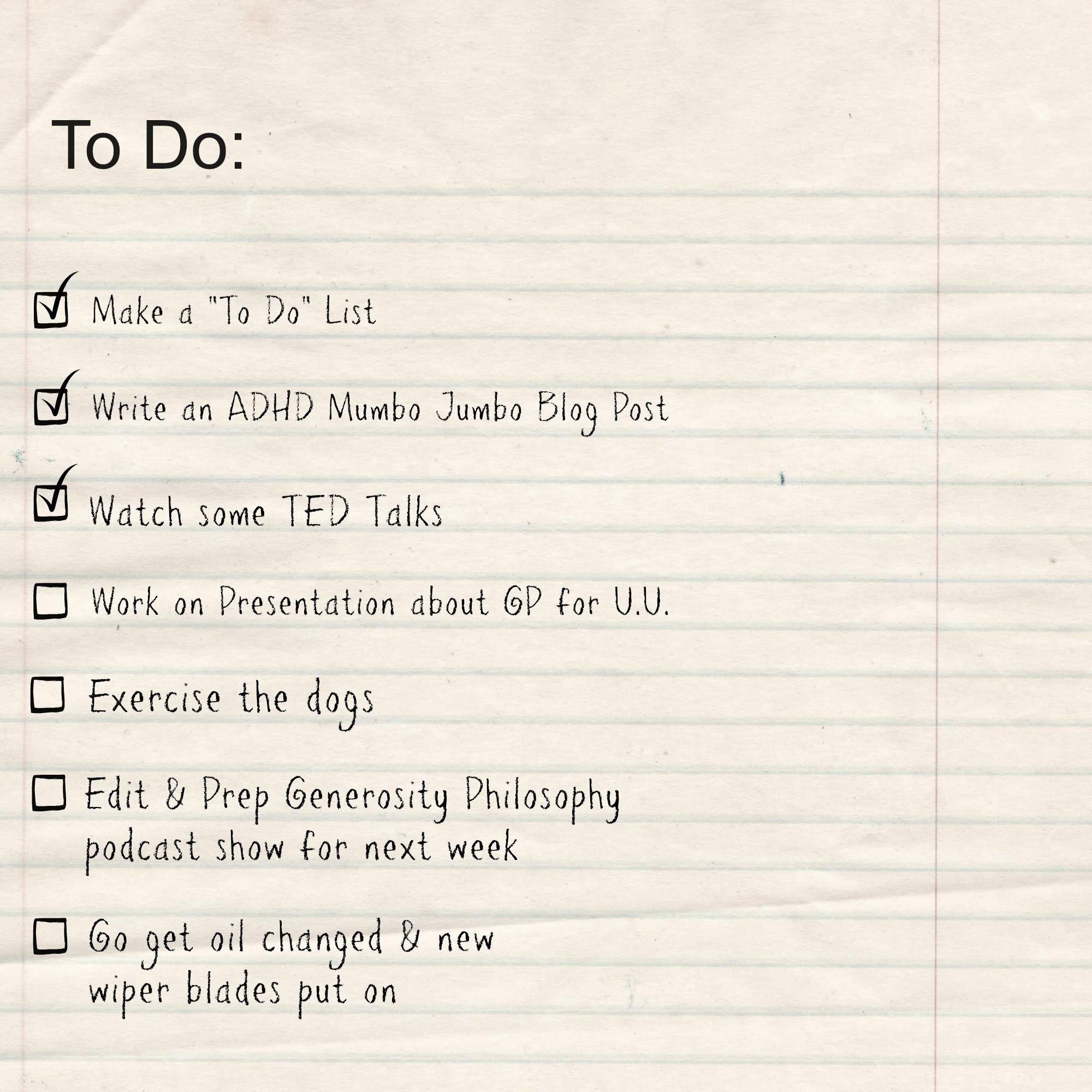 "Things to Do today List Fresh the Dreaded ""to Do"" List"