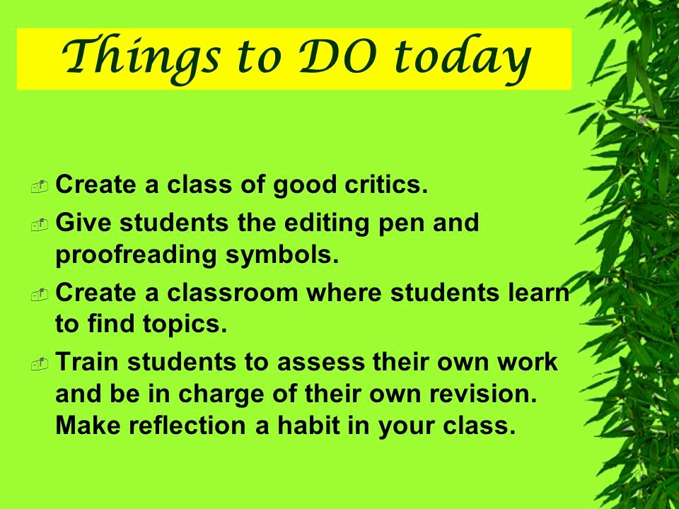 Things to Do today List New Instruction and assessment Ppt Video Online