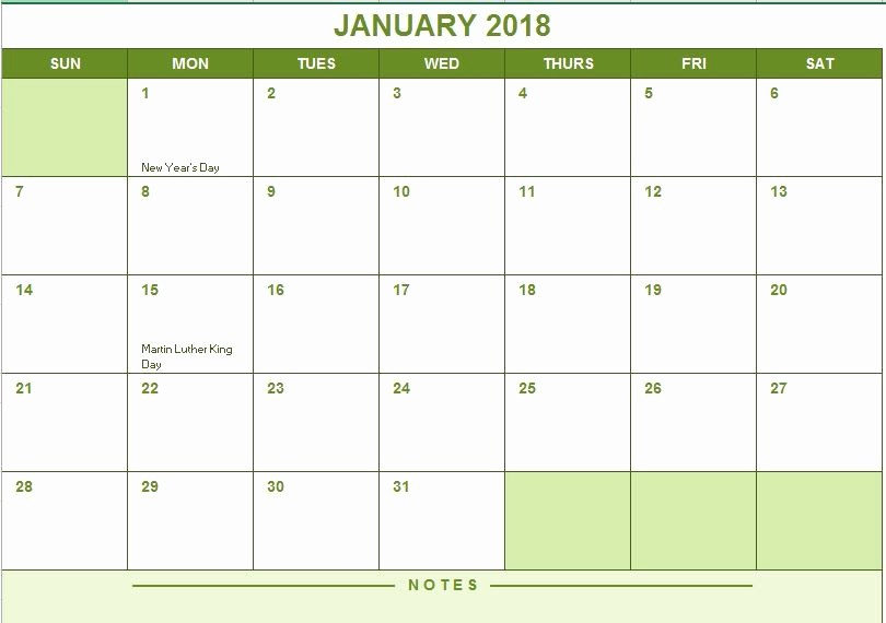 Three Month Calendar Template Excel Awesome 2017 Full Year Calendar
