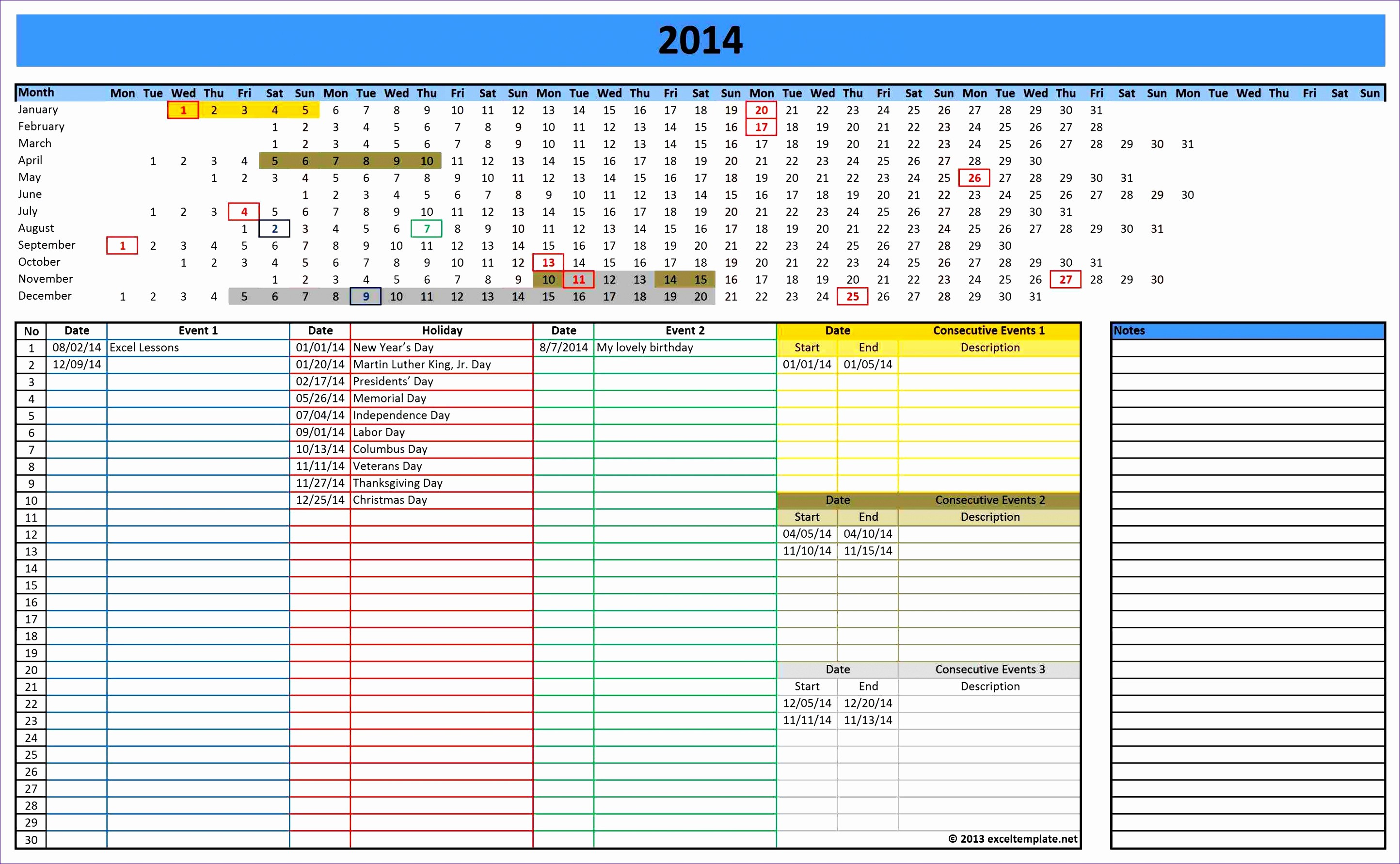 Three Month Calendar Template Excel Awesome 6 3 Month Calendar Template Excel Exceltemplates