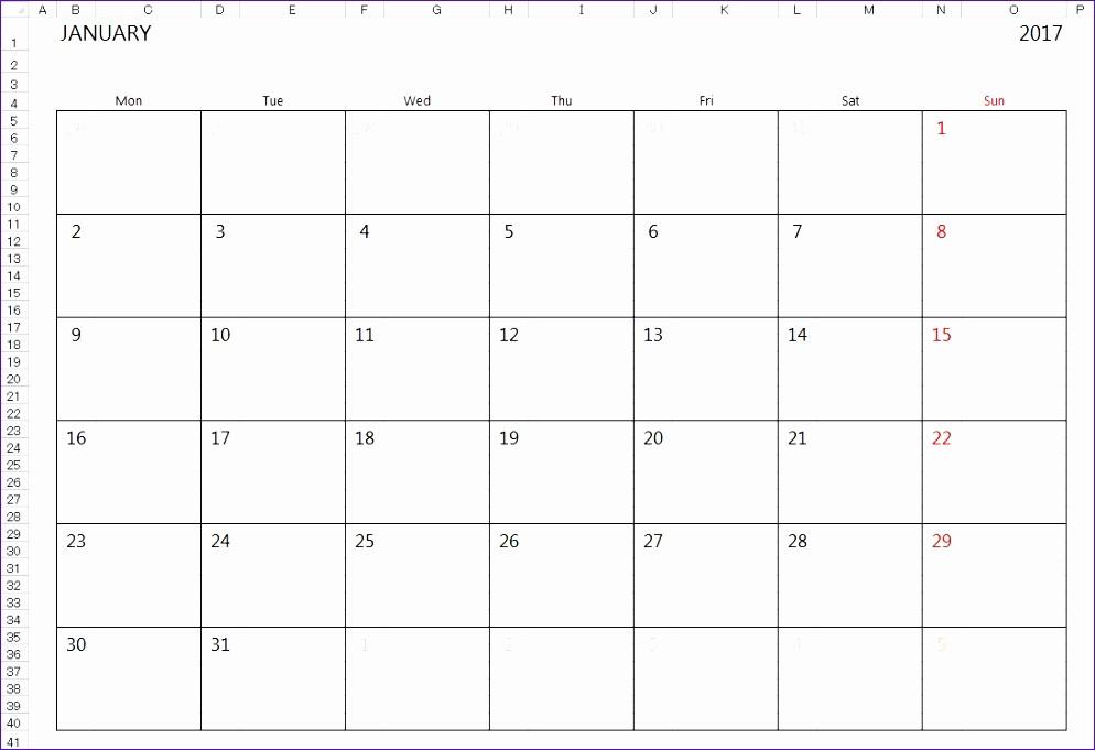 Three Month Calendar Template Excel Best Of 10 Excel Month Calendar Template Exceltemplates